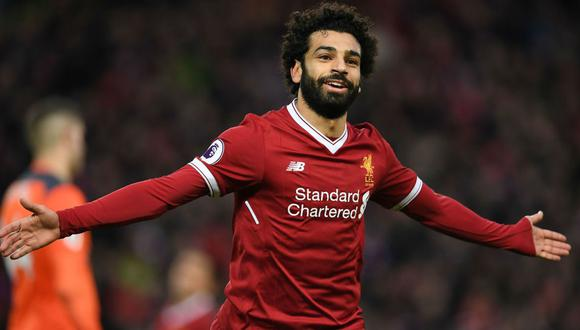 Mohamed Salah llegó a Liverpool en la temporada 2017/18. (Foto: AFP)