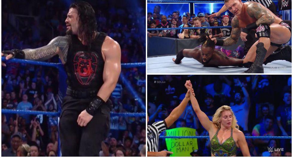 Estos son los resultados del SmackDown LIVE de Toronto. (WWE)