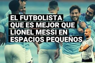 Pep Guardiola y el futbolista que es mejor que Lionel Messi en espacios pequeños