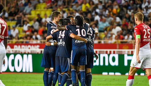 Sin Falcao: Mónaco cayó 3-0 ante Olympique de Lyon por la Ligue 1 2019 en el Luis II. (Getty)