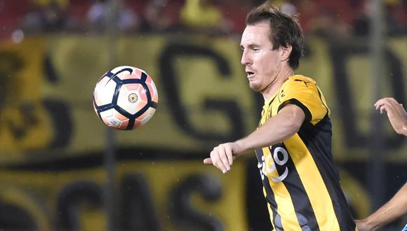 Hernán Novick marcó un doblete a Sporting Cristal en la Copa Libertadores 2016. (Foto: Agencias)