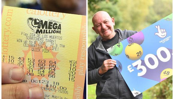 Graham Potts ganó más de 400 mil dólares en la lotería del Reino Unido. (Foto: AFP   The National Lottery)