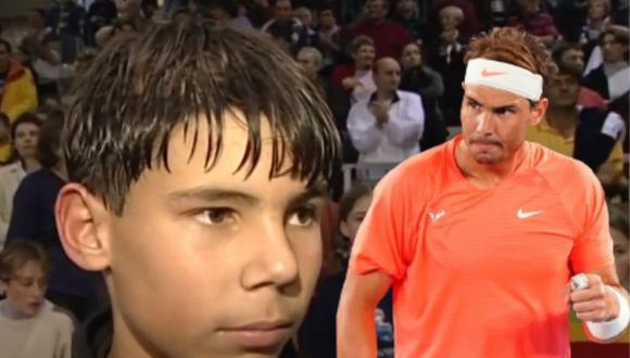 Un video viral demuestra que desde muy chico, Rafael Nadal cultivó una mentalidad ganadora en su camino a convertirse en uno de los más grandes del tenis. | Crédito: Les Petits As - Le Mondial Lacoste / YouTube / @rafaelnadal / Instagram