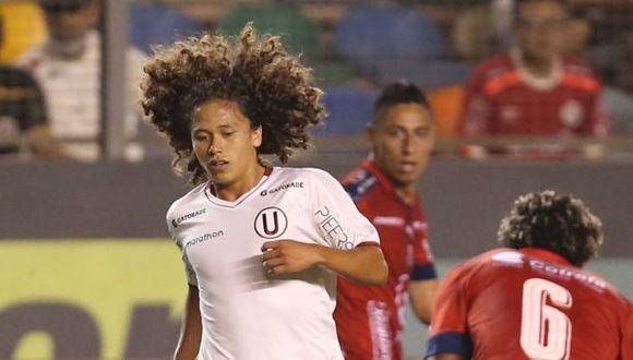 Paulo de la Cruz debutó en el 2018, de la mano de Pedro Troglio. (Foto: Fernando Sangama)