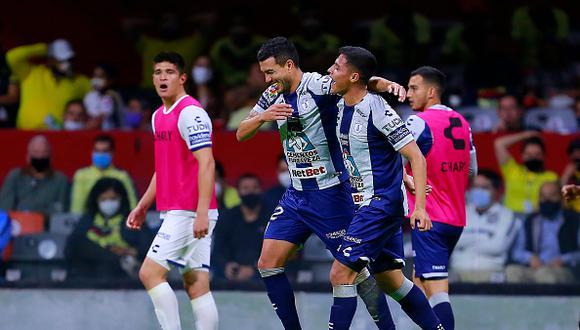 América vs. Pachuca se vieron las caras este domingo por la Liguilla MX 2021 (Foto: Getty Images)