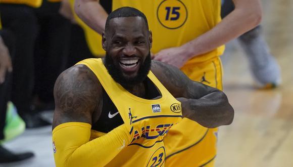 Team LeBron venció al Team Durant por 170-150 en el NBA All Star Game 2021. (NBA)