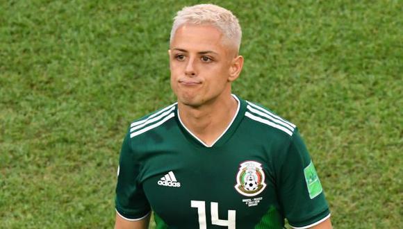 'Chicharito' Hernández es el goleador histórico de México, con 52 anotaciones. (Foto: AFP)