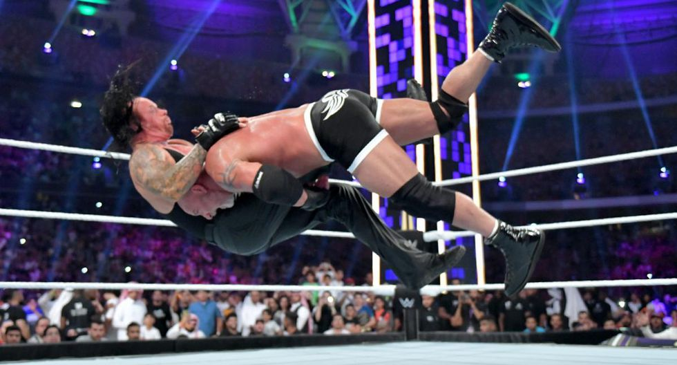 Goldberg y The Undertaker se enfrentaron por primera vez en WWE. (WWE)