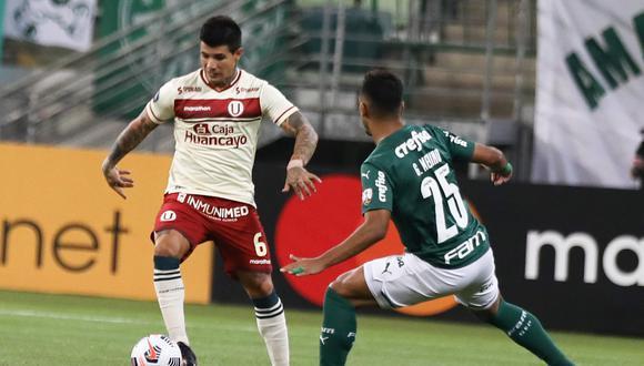 Universitario de Deportes fue goleado 6-0 contra Palmeiras, en Copa Libertadores. (Foto: Libertadores)