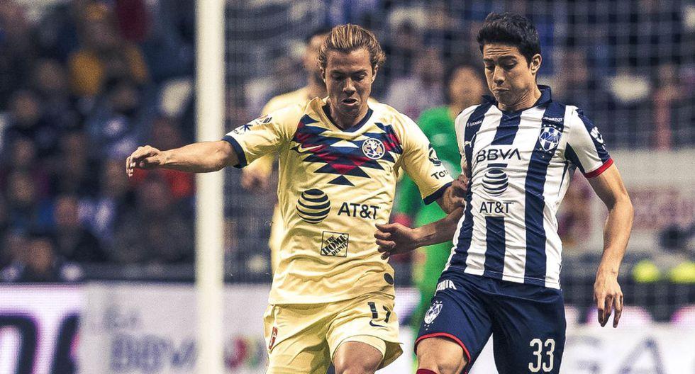 Monterrey cayó 1-0 a manos del América por la jornada 7 de la Liga MX 2020. (Foto: Twitter)