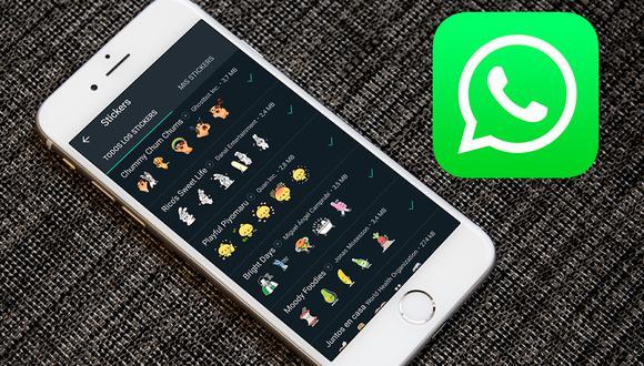 ¿Ya te llegaron los nuevos stickers animados de WhatsApp? Se añaden nuevos packs y aquí puedes descargarlos. (Foto: WhatsApp)