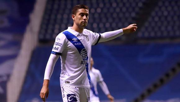 Santiago Ormeño es jugador de Club Puebla desde el 2018 . (Foto: EFE)
