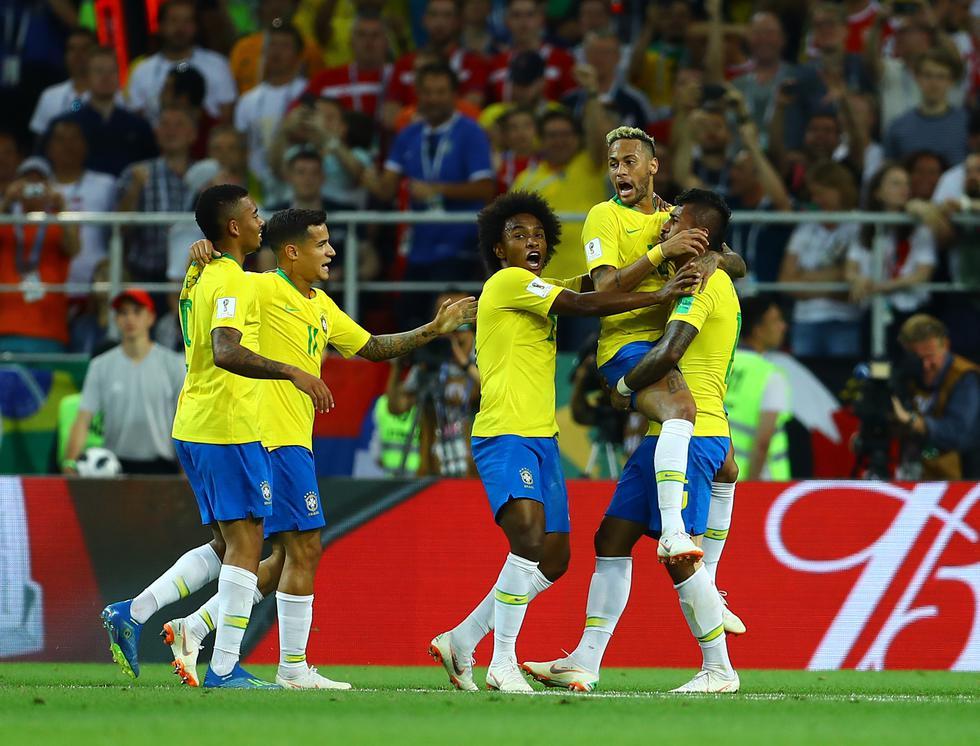 Brasil enfrentó a Serbia por el Mundial Rusia 2018. (Foto: Daniel Apuy)