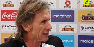 Ricardo Gareca se refirió sobre las últimas indisciplinas de futbolistas peruanos
