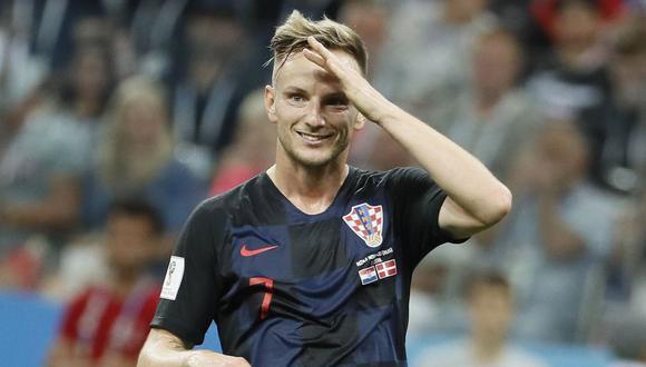 Rakitic fue clave en su selección en el segundo lugar que obtuvieron en la Copa del Mundo 2018. (Foto: AFP)