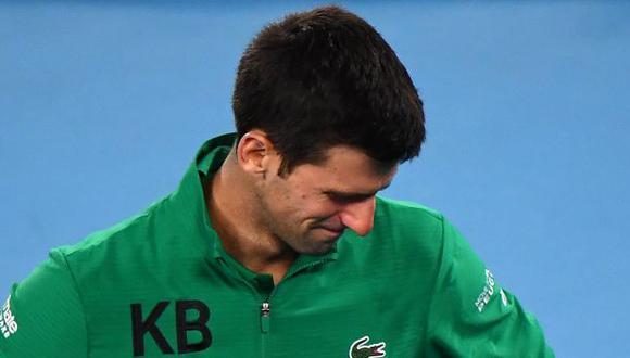 Novak Djokovic le dijo adiós al US Open en octavos de final. (Foto: AFP)