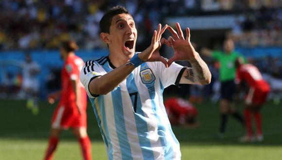 Di María alcanzó con Argentina la final del Mundial 2014 en Brasil. (Getty)