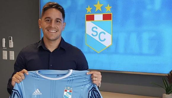 Alejandro Hohberg fue presentado en Sporting Cristal. (Foto: Prensa SC)