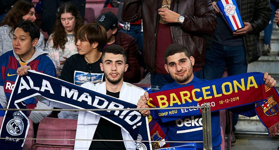 Real Madrid y Barcelona pelean para ganar LaLiga esta temporada. (Foto: Getty Images)