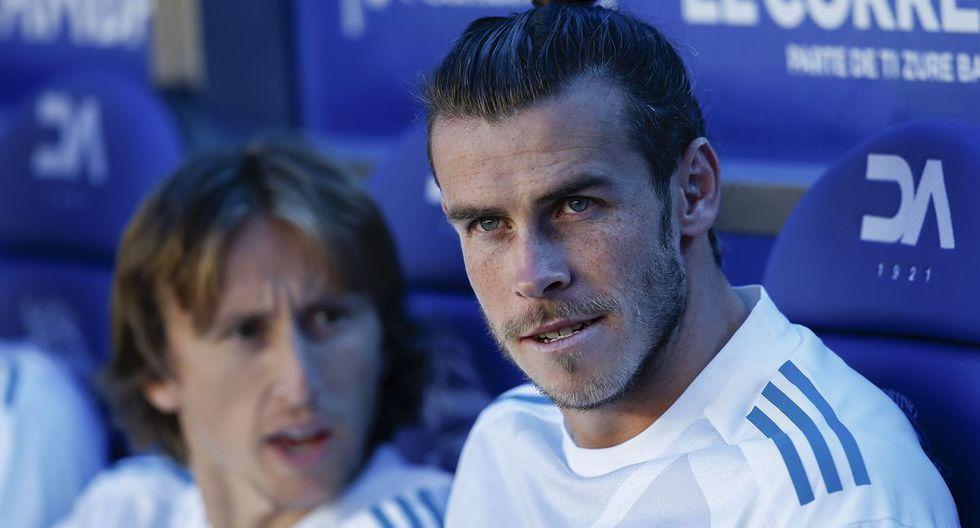 Luka Modric y Gareth Bale juegan juntos en Real Madrid en 2013. (Foto: Getty)