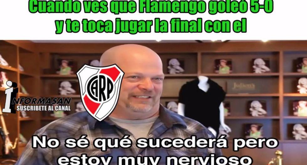 Final Copa Libertadores 2019: los memes del River-Flamengo por la Copa Libertadores 2019