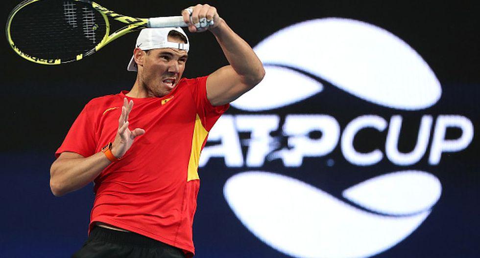 Rafael Nadal viene de ganar la Copa Davis 2019 con España. (Getty Images)