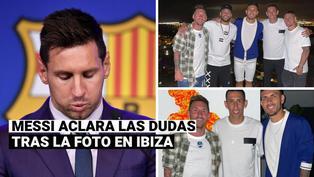 """Lionel Messi sobre la foto con futbolistas del PSG: """"Fue todo una casualidad"""""""
