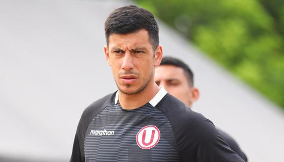 Federico Alonso se unió a la pretemporada de la 'U'. (Foto: @Universitario)