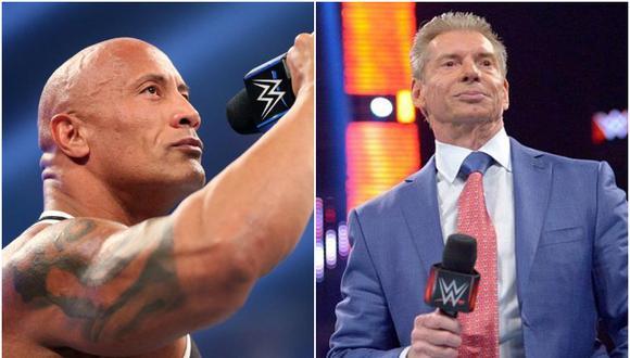 Vince McMahon saludó a The Rock por su cumpleaños número 48. (WWE)