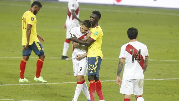 Perú perdió 3-0 frente a Colombia por Eliminatorias (Foto:GEC)