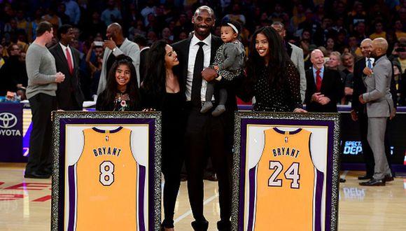 Kobe Bryant dejó millonario patrimonio: piden que su mejor hija sea incluida como heredera. (Getty Images)