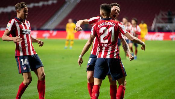 Atlético de Madrid pudo vencer al Barcelona por LaLiga después de 20 partidos. (Foto: LaLiga)
