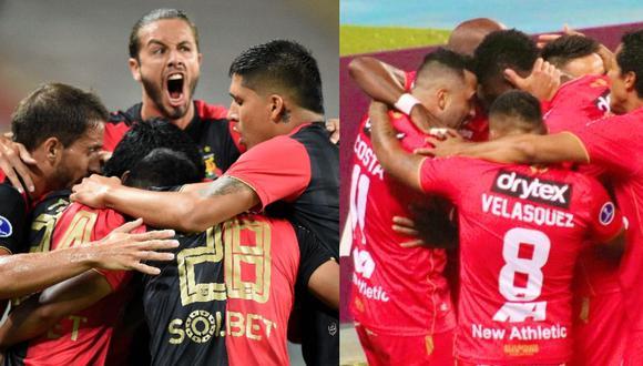 Fixture de Melgar y Sport Huancayo en Copa Sudamericana. (Foto: Agencias)