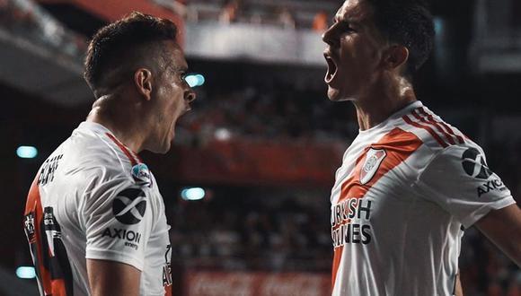 En vivo, River Plate vs. Estudiantes de La Plata: Rafael Santos Borré e Ignacio Fernández, serán titulares en el 'Millonario'. | Foto: AFP