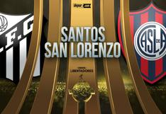VER GRATIS Santos vs. San Lorenzo EN VIVO: transmisión ONLINE por Copa Libertadores