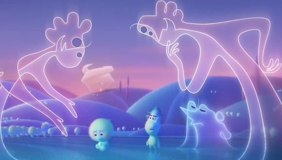"""Soul"", la nueva película de Pixar que se estrenó en Disney+ (Foto: Disney Plus)"