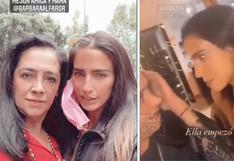 Bárbara de Regil es criticada por golpear en la cabeza a su mamá en un video