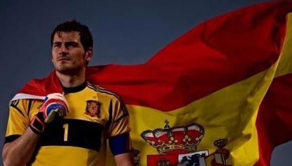 Iker Casillas fue campeón mundial con España en la copa de Sudáfrica en 2010. (Instagram)