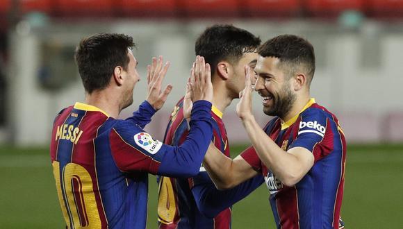Barcelona vs. Getafe en Camp Nou por LaLiga Santander. (Foto: Reuters)