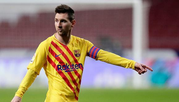 Lionel Messi tiene contrato con el FC Barcelona hasta junio de 2021. (Getty)