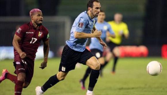 Uruguay vs. Venezuela en Caracas por las Eliminatorias Qatar 2022. (Foto: Reuters)