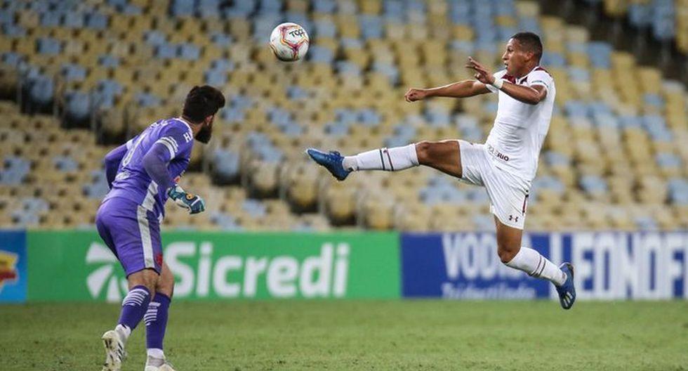 Fernando Pachecho llegó a Fluminense procedente de Sporting Cristal. (ESPN)