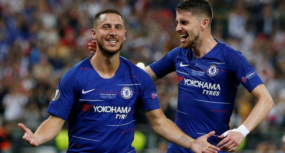 Eden Hazard marcó a los 75' el 4-1 del Chelsea vs Arsenal por la final de la Europa League 2019.