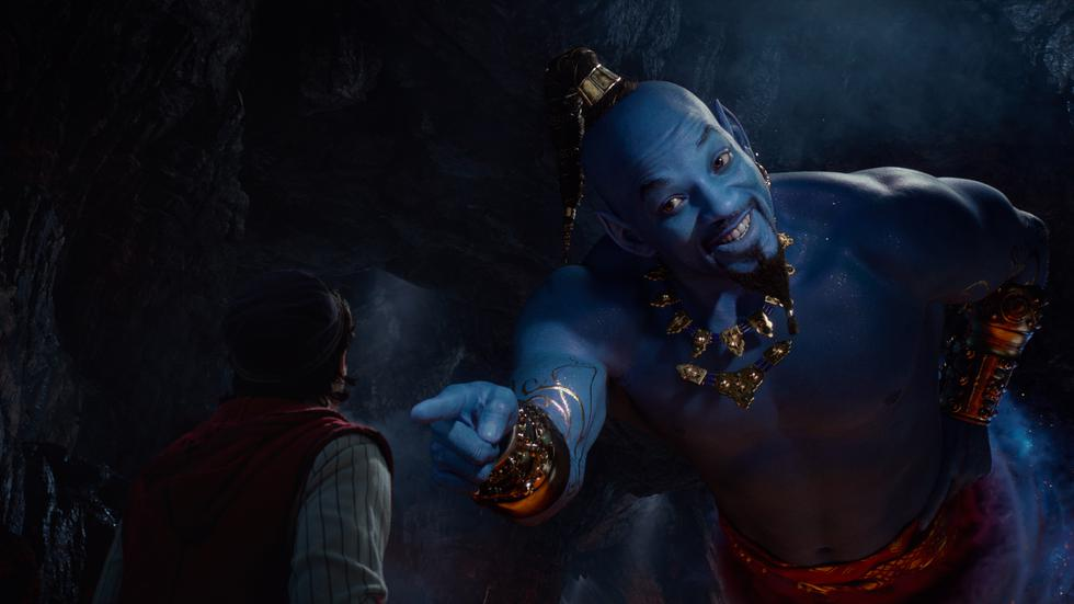 """Will Smith sorprende a todos al rapear su propia versión de """"Friend like me"""". (Foto: Disney)"""