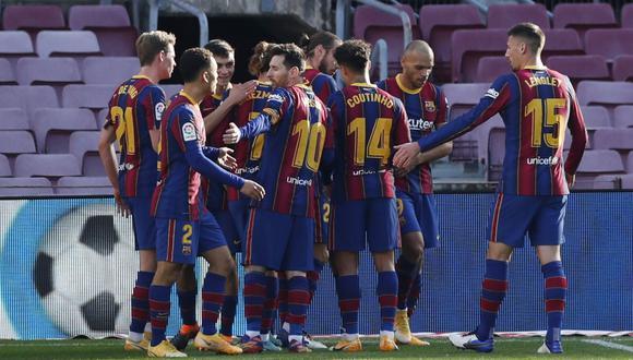 Al plantel del Barcelona todavía les adeudan los premios por títulos pasados. (Foto: REUTERS)