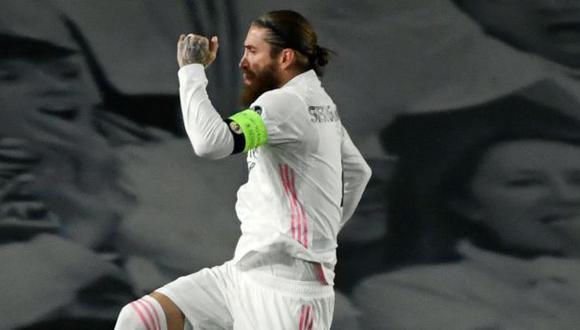 Sergio Ramos acaba contrato con Real Madrid el 30 de junio del 2021. (Foto: AFP)
