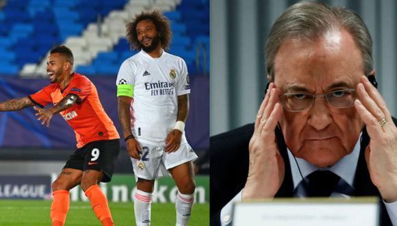 Florentino y su 'café cargado' a los jugadores de Madrid. (Foto: Agencias)