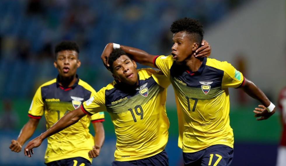 Ecuador venció a Hungría y avanzó de fase en el Mundial Sub 17 de Brasil. (Foto: Agencias)