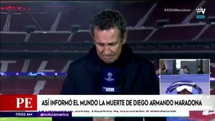 Diego Maradona: así informó la prensa internacional la muerte del 'Pelusa'