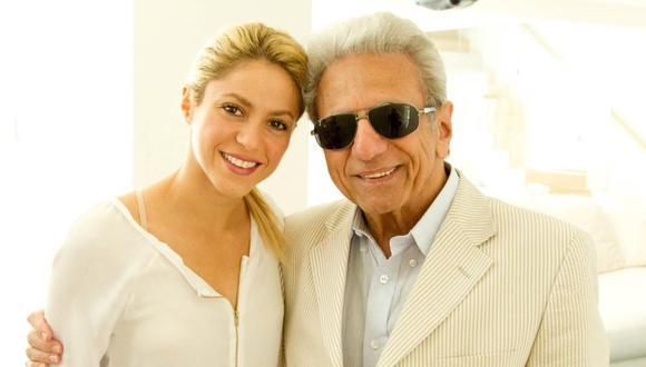 Shakira celebra los 90 años de su padre con emotivo mensaje. (Foto: @shakira)